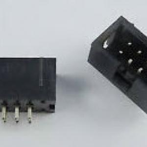 2x4 Pin (8 Pins) Box Header IDC Male Sockets Straight (Pitch 2.54mm)