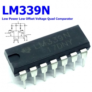 LM339N Low Power Low Offset Voltage Quad Comparator