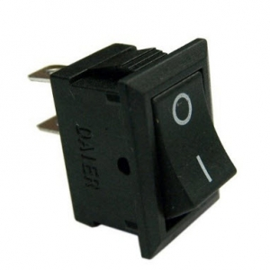 KCD1-101 2Pin 2 Position SPST ON-OFF Rocker Switch 3A/250V 6A/125V (21mm)