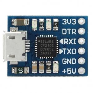 CJMCU CP2102 USB To TTL/Serial Module Downloader For Arduino (แถมสาย 6เส้น)