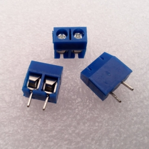 2 Poles 2 Way KF301-2P Screw Terminal Block Connector 5.0mm Pitch