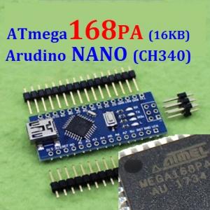 ATmega168pa 16KB Nano 3.0 Arduino Nano CH340