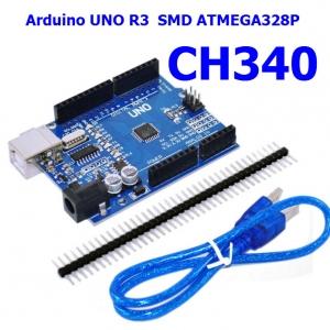 Arduino UNO R3 CH340G for Arduino Compatible พร้อมสาย USB 30 cm