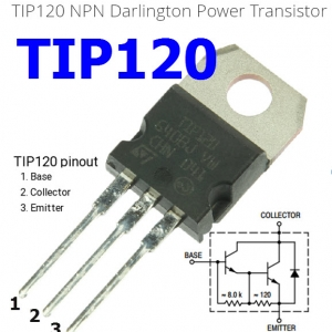 TIP120 5.0 A, 60 V NPN Darlington Bipolar Power Transistor