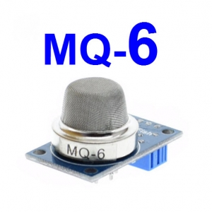 MQ-6 Liquefied Petroleum Gas Sensor