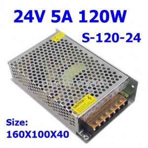 24V 5A switching power supply (S-120-24) สำเนา