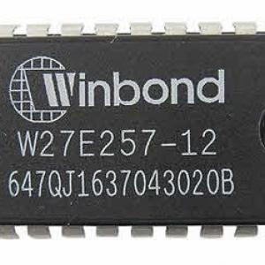 W27E257-12 ( 27C256 ) DIP28 EPROM 256Kbit(32KB) 120nS