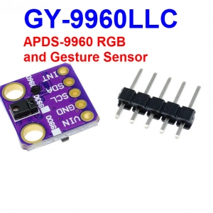 GY-9960 APDS-9960 digital RGB, ambient light, proximity and gesture sensor