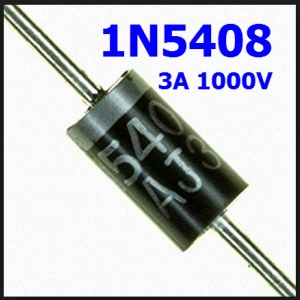 1N5408 Diode Rectifiers 1000V 3A