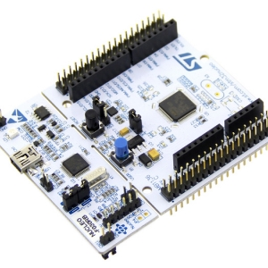 STM32 NUCLEO-F030R8 development board with STM32F030R8T6 MCU, supports Arduino connectivity สำเนา สำเนา