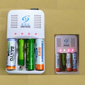 Smart nickel-zinc battery charger 1.6V AA nickel-zinc AAA independently control four-slot-compatible NiMH battery