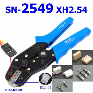 SN-2549 XH2.54 SM plug terminal spring clamp terminals Crimping Tool Crimping pliers For D-SUB Terminals Sq.mm 0.08-0.5 AWG28-22