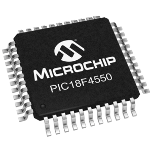 PIC18F4550 (TQFP-44) 32kB Microcontroller with USB