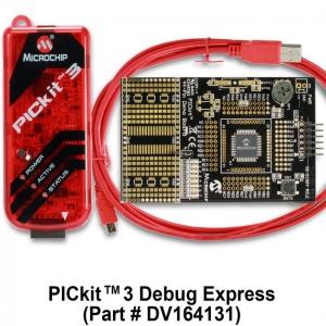 PICkit 3 Debug Express (DV164131)