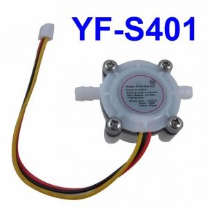 YF-S401 Water Flow Sensor Flowmeter Hall Flow Sensor Water Control 0.3-6L/min 0.8MPa