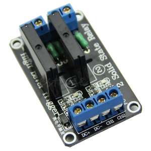 2 Channel(5V) OMRON SSR High Level Solid State Relay Module 250V 2A For Arduino
