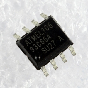 AT93C66 (SOIC8) MICROWIRE SERIAL EEPROM 4K (512 x 8 or 256 x 16)