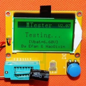 ESR T4 /LCR/MOSFET/Transistor/TRIAC/SCR/Diode/LED METER ESR TESTER