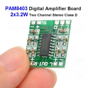 PAM8403 Digital Amplifier Board 2x3.2W Two Channel Stereo Class D