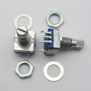 Rotary encoder EC11 (digital potentiometer) with switch 5Pin (15cm)