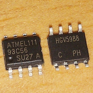 AT93C56A AT93C56 (SOIC8) MICROWIRE SERIAL EEPROM 2K (256 x 8 or 128 x 16)