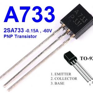 A733 2SA733(TO-92) PNP 60V/0.15A