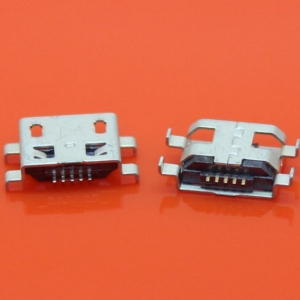 MicroUSB socket female Shen plate 0.8mm SMD Micro5P
