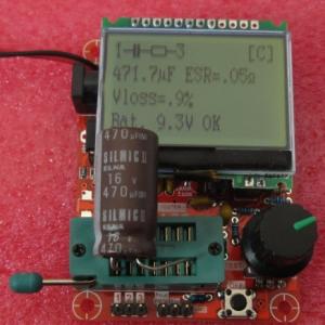 M328 ESR/LCR/MOSFET/Transistor/TRIAC/SCR/CRYSTAL/Diode/LED METER ESR TESTER