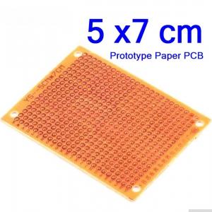 5x7cm แผ่นปริ๊นอเนกประสงค์ Prototype PCB