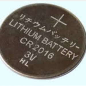 CR2016 3V Lithium Button Coin Battery for watches,remote,RTC, toys,calculator etc