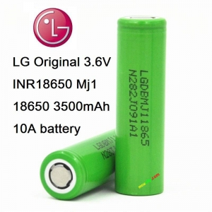 LG MJ1 3500mAh 3.7V lithium battery 18650 (10A) (ของแท้)