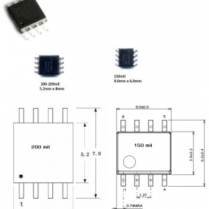 EN25Q64 (SOIC8 200mil) 64M-BIT SERIAL FLASH MEMORY WITH DUAL AND QUAD SPI