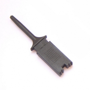 Test Clip Mini Grabber SMD IC Hook Probe Jumper (ฺBLACK)