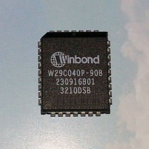 W29C040 FLASH MEMORY 4Mbit(512KB) PLCC32
