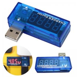 LED USB Mobile Power Charging Current Voltage Tester