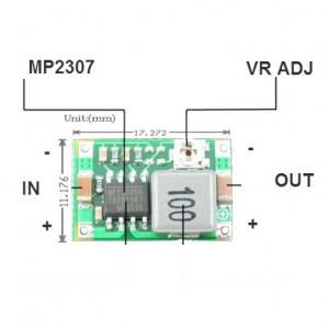 Mini360 DC-DC step-down power module automotive power ultra-small super