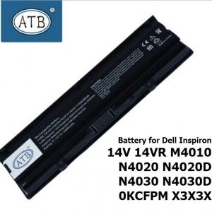 ATB Battery for Dell Inspiron 14V 14VR M4010 N4020 N4020D N4030 N4030D 0KCFPM X3X3X