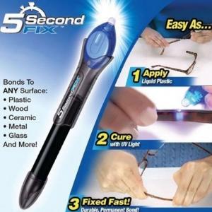 5 Sec.Glass Welding Compound Glue UV Light Quick Fix Liquid Repair Tool