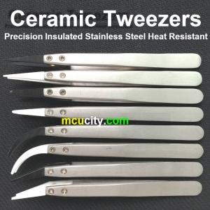 Ceramic tweezer แหนบเซรามิคทนความร้อน คีมเซรามิค แหนบจับชิ้นงานทนความร้อน