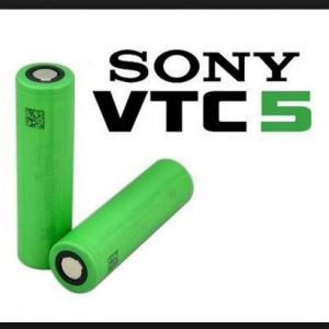 Sony VTC5 2600mAh US18650VTC5 Continuous 20A Discharge (ของแท้)