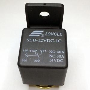 RELAY AUTO SPDT 12VDC 40A/30A NO/NC SLD-12VDC-1C