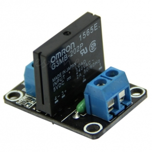 5V 1 Channel OMRON SSR High Level Solid State Relay Module 250V 2A For Arduino