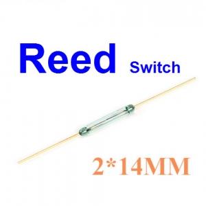 Reed switch 2x14mm สวิตช์แม่เหล็ก