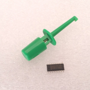 (GREEN) Hook Clip Test Probe for Electronic ( CLIP TEST J)