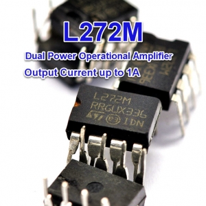 L272 L272M Dual Power Operational Amplifier