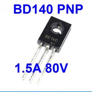 BD140 80V 1.5A PNP Bipolar Power Transistor