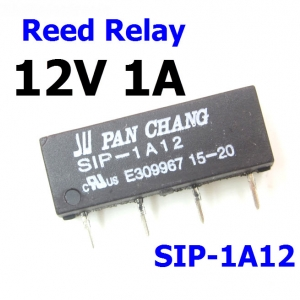 SIP-1A12 Reed Switch Relay 12V Voltage 1A
