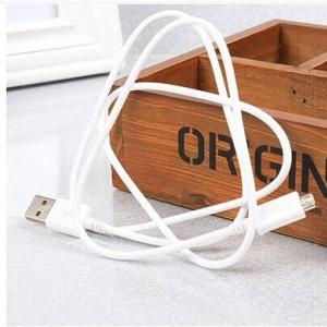 สาย Micro USB (B) Programming Cable White (100cm) ยาว 1เมตร สีขาว