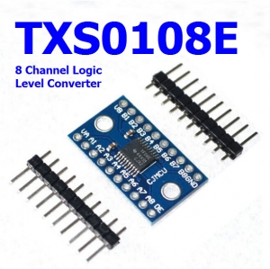 1.2V 1.8V 3.3V 5V TXS0108E 8 Channel Logic Level Converter Convert TTL Bi-Directional