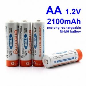 AA 1.2V 2100mAh For enelong rechargeable Ni-MH battery